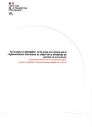 Réhabilitation du lieu d'appel de Mathaux - Partie 2 - attestation énergie