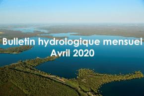 Bulletin hydrologique mensuel Avril 2020