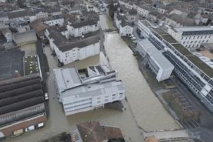 Crue de la Marne à Joinville en janvier 2018