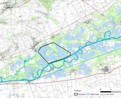 Localisation du site pilote
