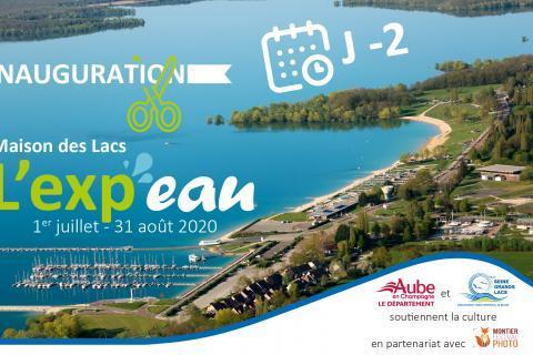 J -2 avant l'inauguration de l'Exp'eau à la Maison des Lacs - Mesnil-Saint-Père