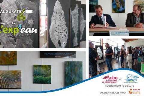Inauguration de l'Exp'eau à la Maison des lacs -Mesnil-Saint-Père