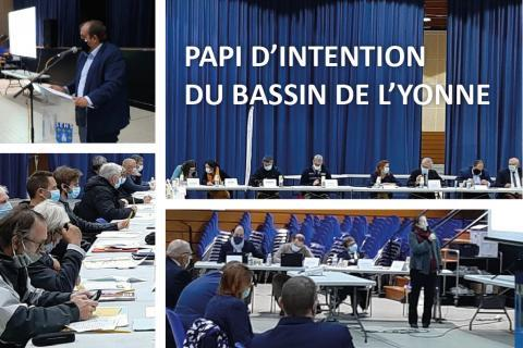 Élaboration du PAPI d'intention du Bassin de l'Yonne