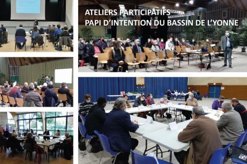 EPTB Seine Grands Lacs - Ateliers participatifs pour l'élaboration du PAPI d'intention du bassin de l'Yonne
