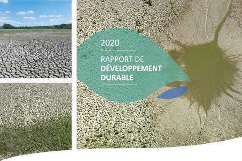 Rapport de développement durable 2020 de l'EPTB Seine Grands Lacs