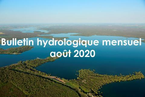 Bulletin hydrologique mensuel août 2020