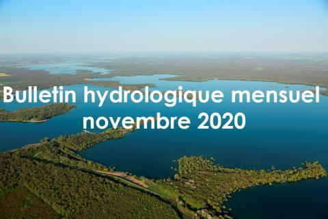 EPTB Seine Grands Lacs - Bulletin hydrologique mensuel novembre 2020