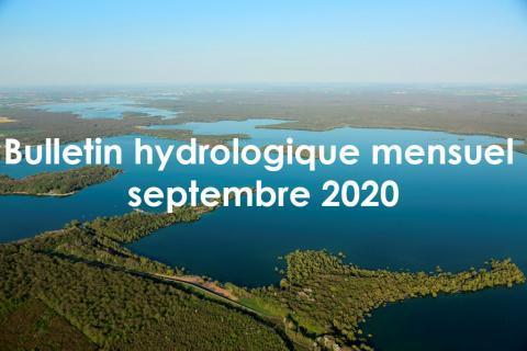 EPTB Seine Grands Lacs - Bulletin hydrologique mensuel - Septembre 2020