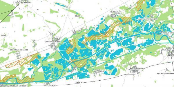 Les barettes de l'agence de l'eau Seine Normandie