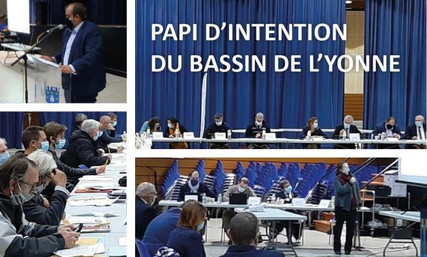 Élaboration du PAPI d'intention du Bassin de l'Yonne