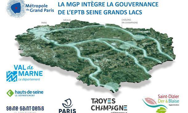 La Métropole du Grand Paris intègre la gouvernance de l'EPTB Seine Grands Lacs