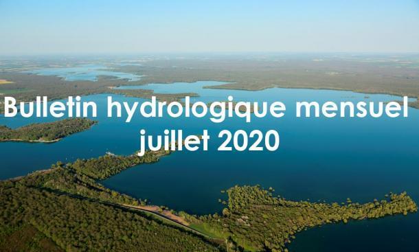 EPTB Seine Grands Lacs - Bulletin hydrologique mensuel - juillet 2020