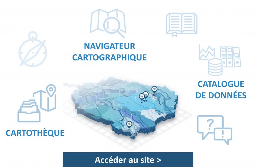 GEOSEINEGRANDSLACS - L'information géographique de l'EPTB Seine Grands Lacs